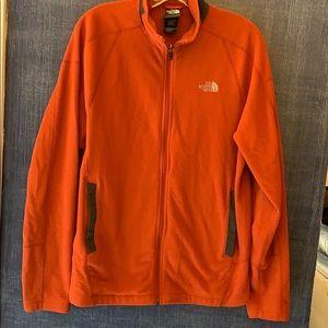 Mens Jacket North Face M Orange